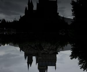 castle, dark, and hermione image