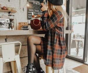 beauty, coffee, and outfits image