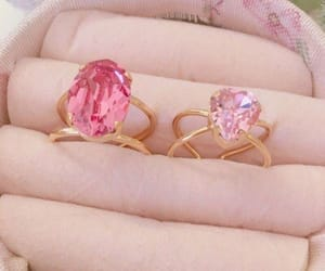 jewery, pink, and ring image