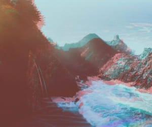 beach, mar, and natureza image