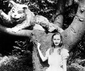 alice in wonderland and vintage image