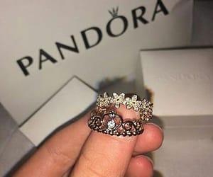 pandora, ring, and rings image
