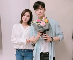 couple, cha eunwoo, and im soohyang image