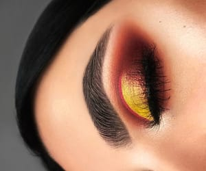 autumn, eyeshadow, and fall image