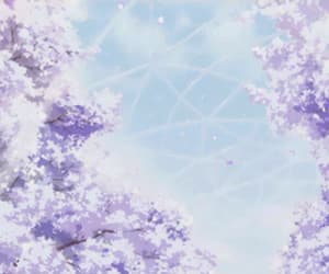 aesthetic, anime, and sky image