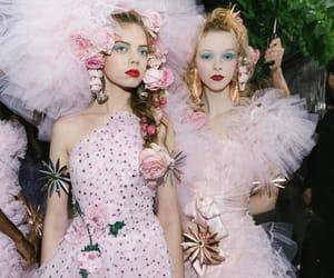 art, high fashion, and pink image
