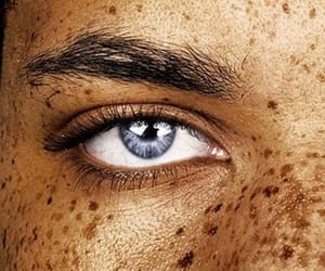 aesthetic, beauty, and brown eyes image