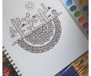 art, arte, and cactus image