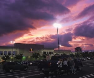 cars, party, and grocery stores image