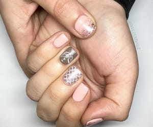 glitter, magic, and manicure image