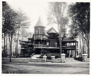 architecture, mansion, and residence image