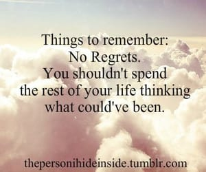 article, no regrets, and life lessons image
