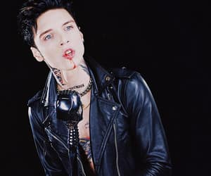 andy, biersack, and black image