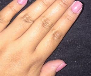 glitter, nail polish, and pink image