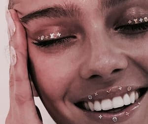 chanel, girl, and teeth image