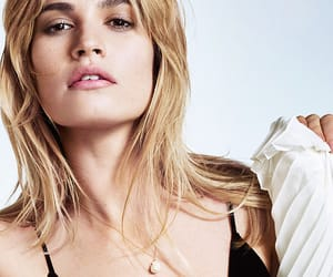 girl, pretty, and lily james image