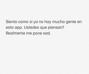 frases, texto, and triste image