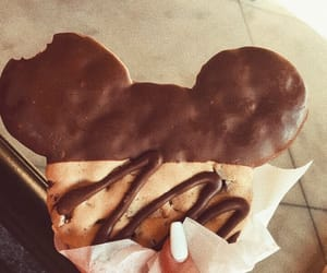chocolate, cookie, and disney image