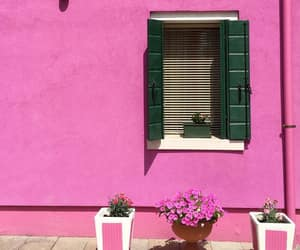 facade, photography, and pink image