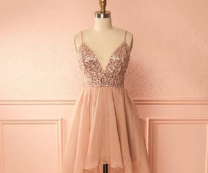 a-line prom dresses, high low homecoming dress, and prom dresses for cheap image
