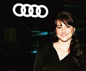 actress, smiley, and audi image