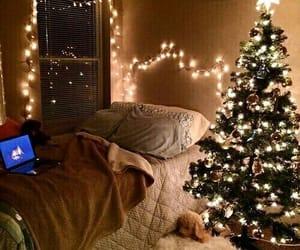 christmas, light, and cosy image
