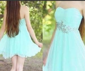 short prom dress, simple homecoming dresses, and prom dress for teens image