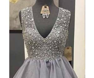 v-neck prom dresses, homecoming dress v-neck, and homecoming dress short image