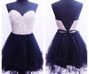 short homecoming dresses, prom dresses cheap, and prom dresses black image