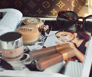 aesthetic, Louis Vuitton, and makeup image