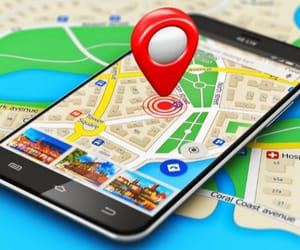 geofencing advertising and geo advertising image