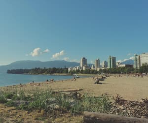 canada, travel, and vancouver image