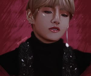 art, taehyung, and kim taehyung image