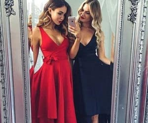 homecoming dresses cheap, prom dresses a-line, and 2018 homecoming dresses image