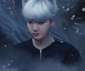 art, yoongi, and artwork image