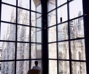 architecture, boy, and milan image