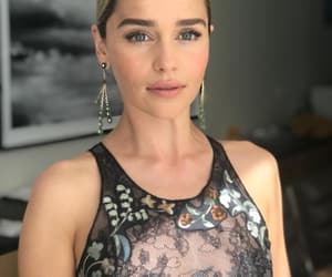 emilia clarke, beautiful, and game of thrones image