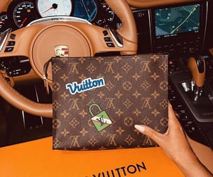 car, Louis Vuitton, and lux image