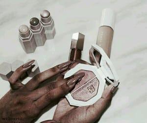 fashion, nails, and makeup image