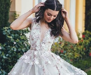 white homecoming dresses, cheap prom dresses, and a-line prom dresses image