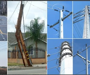 utility pole suppliers and electrical power pole image