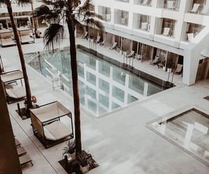 place, pool, and summer image