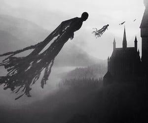 harry potter, sad, and hogwarts image