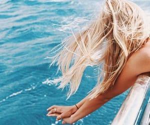 girls, ocean, and sea image