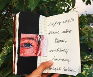 art journal, poetry, and artists image