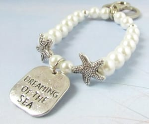 etsy, pearl brACELET, and gift ideas image