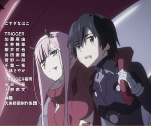 anime, 02, and zero two image