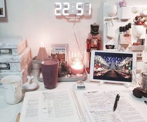 aesthetic, study, and work space image