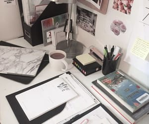 aesthetic, study, and bedroom image