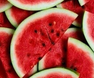 red and watermelon image
